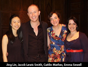 Jing Lin, Jacob Lewis Smith, Caitlin Mathes, Emma Sewell