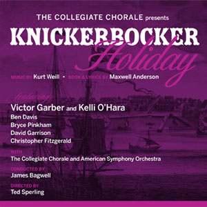 """Knickerbocker Holiday"" CD cover"