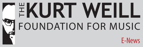 The Kurt Weill Foundation for Music E-News