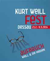 Kurt Weill Fest 2014