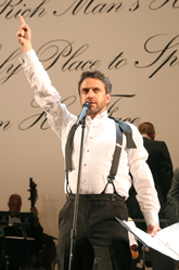 Raul Esparza in The Cradle Will Rock, Encores! Off-Center