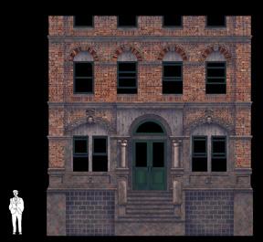 Design sketch for CCM's Street Scene by scenic designer Brian Ruggaber.