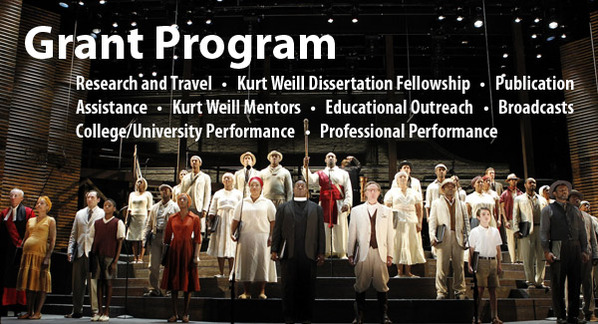 Kurt Weill Foundation Grant Program